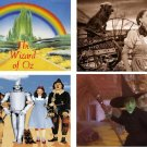 Lot Of 12 Wizard Of Oz Fabric Panel Quilt Squares
