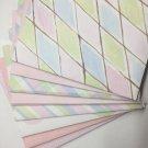 Set of 8 Pink Design Handmade Envelopes Invitations Card Making