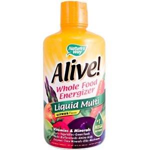 Liquid Multi-Vitamin/Mineral Supplement- Citrus Flavor 30 oz