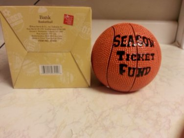 Vintage sport piggy banks season ticket fun