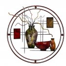 Metal Wall Decor home circular wall art decorative fun creative