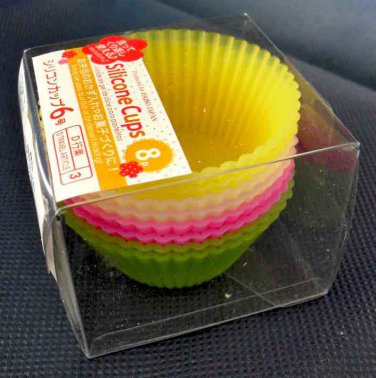4 Color Mini Baking Cup Round Cake Muffin Silicone Mold Cupcake Liner Mould 8pcs #6