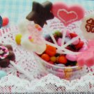 Chocolate PRETZ Sticks Flower Butterfly Star Heart Mold Silicone Pastry Mould 6 mini sticks #4