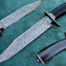 One Of a Kind Astonishing Custom Hand Made Marvelous Damascus Steel Hunting Knife (HK-283