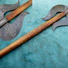 Astonishing Custom Hand Made Marvelous Damascus Steel AXE (HK-279)