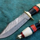 Astonishing Custom Hand Made Marvelous Damascus Steel Hunting Knife (HK-26-2)