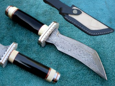 Astonishing Custom Hand Made Damascus Steel Hunting Knife (HK-263-2)