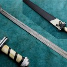 Astonishing Custom Hand Made Stunning Damascus Steel Sword (HK-269-2)