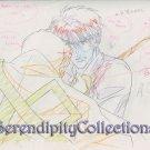 Mirage of Blaze Production Artwork (Takaya w/ sword through shoulder)