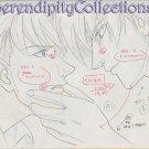 Mirage of Blaze Production Artwork (Yuzuru and Ranmaru close up)
