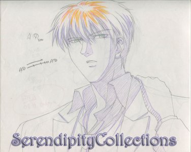 Mirage of Blaze Production Artwork (Takaya with hand on shoulder)