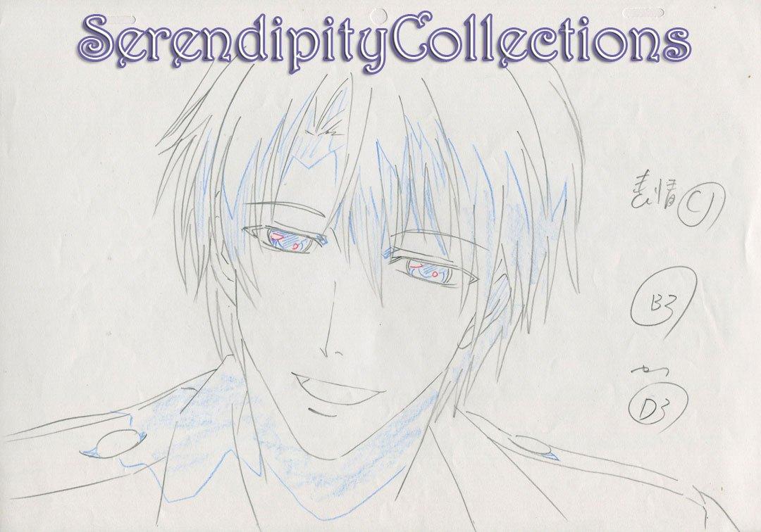 Kyo Kara Maoh Production artwork (Conrad close up)