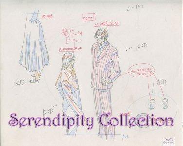 Haru wo Daiteita Production Artwork Iwaki & Kikuchi (Ep 2, Cut 131)