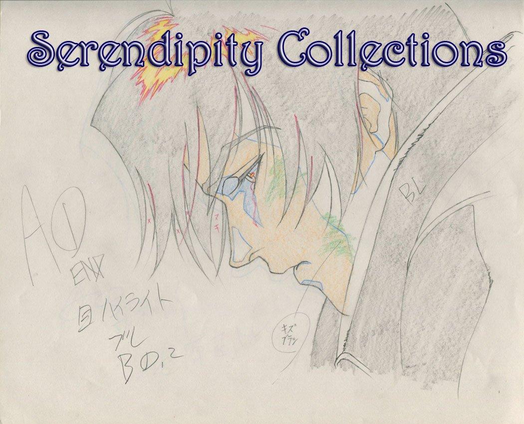 Ai no Kusabi Production Genga  (Riki very sad and crying)