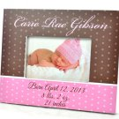 New Born Baby Frame  Hand Engraved