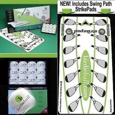 BIRDIE BALLS + STRIKEPAD...+ More .Lower your golf score Quick