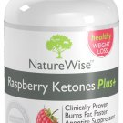 NatureWise Raspberry Ketones Plus+ Weight Loss Supplement and Appetite Suppressant