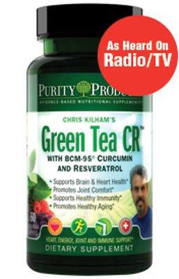 Green Tea CR  ....Helps Brain & Heart