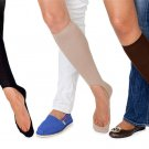 NO SHOW SOCKS FOR WOMEN..1 (1 set) Black, brown or nude..