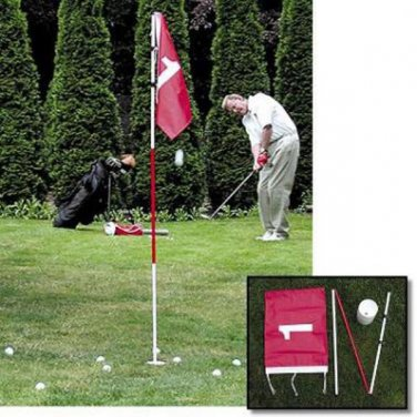 Golf Flagstick and Cup