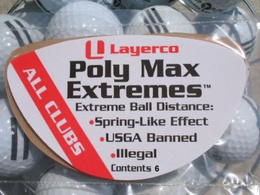 Poly Max Extremes Golf Extra Driver Distance Package of 3