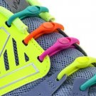 No Tie Shoelaces: Hickies..Neon Rainbow