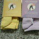 Keysocks: Yellow only (1 set)