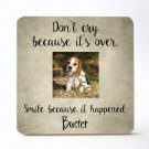 Pet Memorial Personalized Picture Frame (8 x 8)