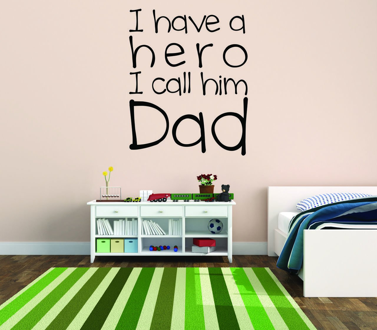 I Have A Hero Wall Decal