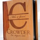 Maple & Rosewood Wooden Photo Album
