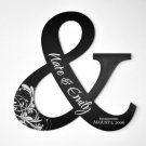Personalized Alphabet Art Ampersand And Sign Cutout
