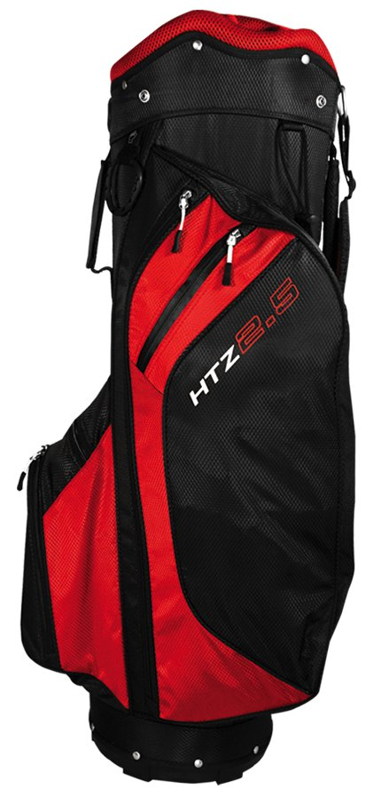 Hot Z 2.5 Golf Cart Bag: Red/Black