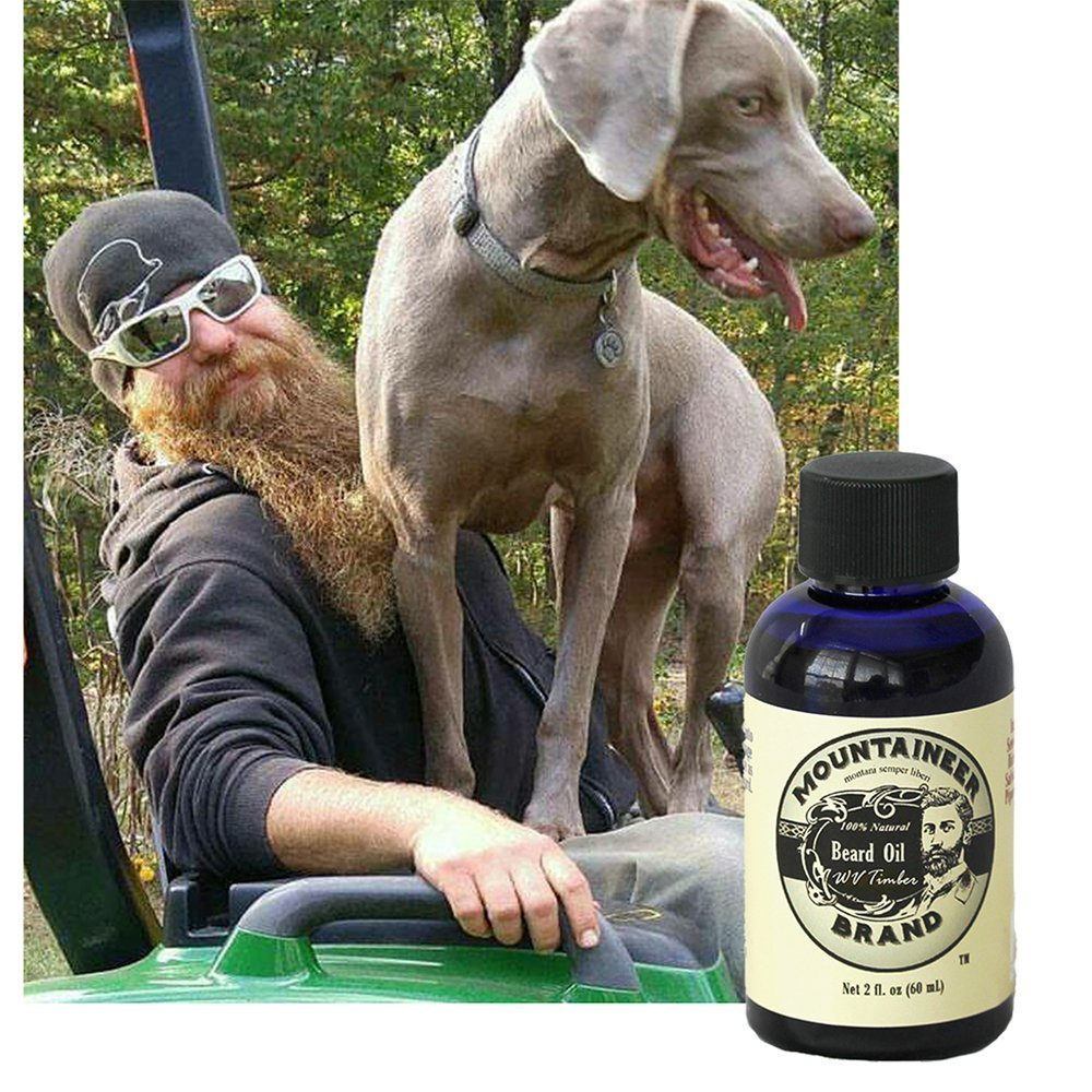 Beard Oil : 2 oz bottle. Made in USA
