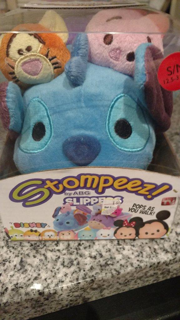 Disney Stompeez!! Slippers