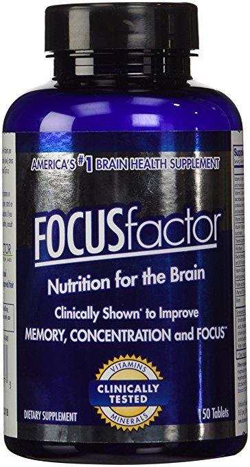 FOCUS  FACTOR Dietary Supplement, 150 Tablets