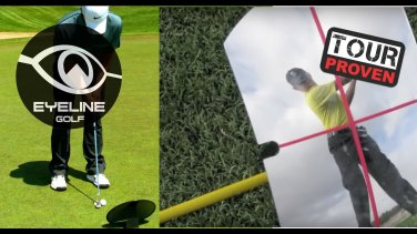 EyeLine Golf 360-degrees Mirror for Full Swing and Putting. Lower your Golf Score