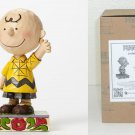 Jim Shore Peanuts 'Good Man Charlie Brown' Personality Pose Figure