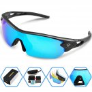 Torege Polarized Sports Sunglasses (Blue Ice)