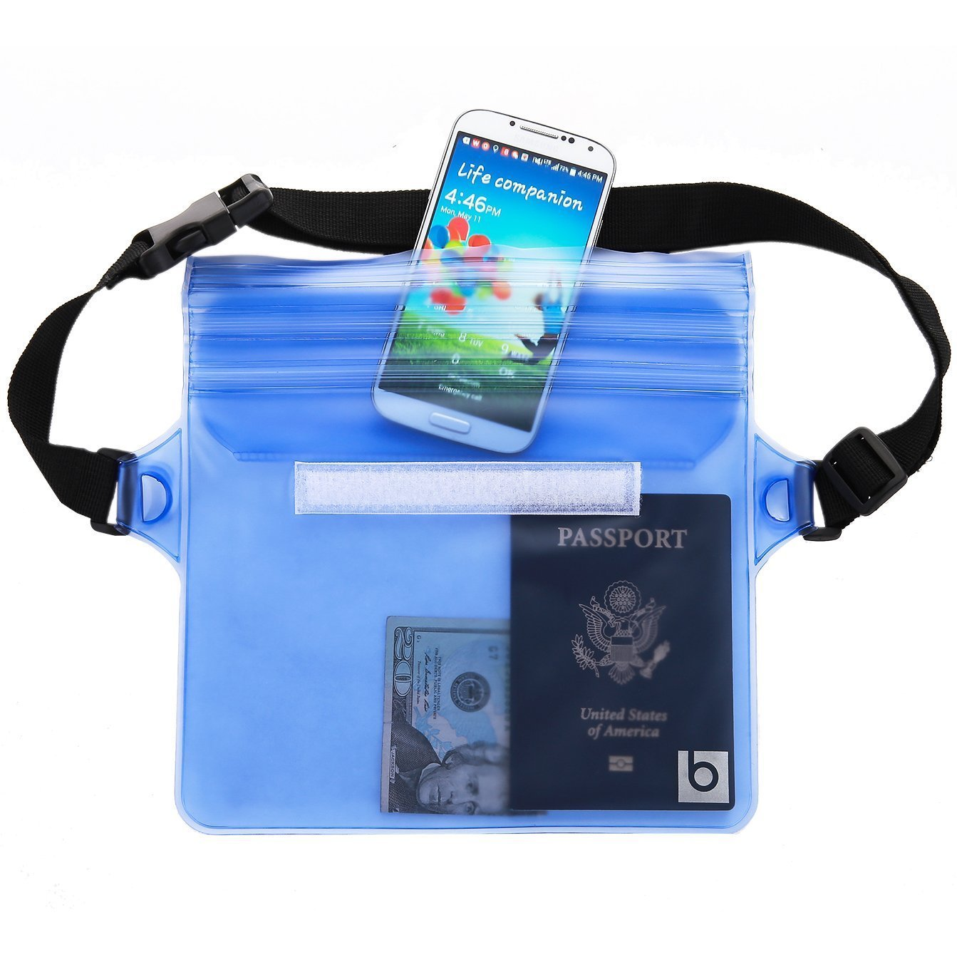 Waterproof Pouch with Waist Strap (1)