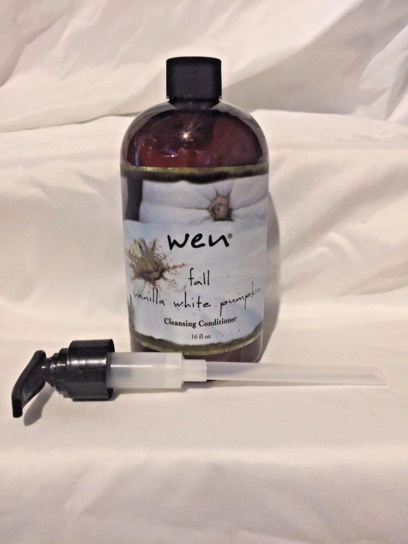 Wen 16 oz Cleansing Conditioner Sealed w pump (Fall Vanilla White Pumpkin)