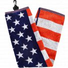 Hot Z Golf:  USA GOLF TOWEL 16 X 24