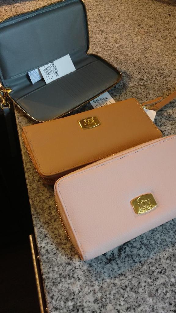 JOY Genuine Leather Organizer Wallet with RFID Protection - Joy Mangano