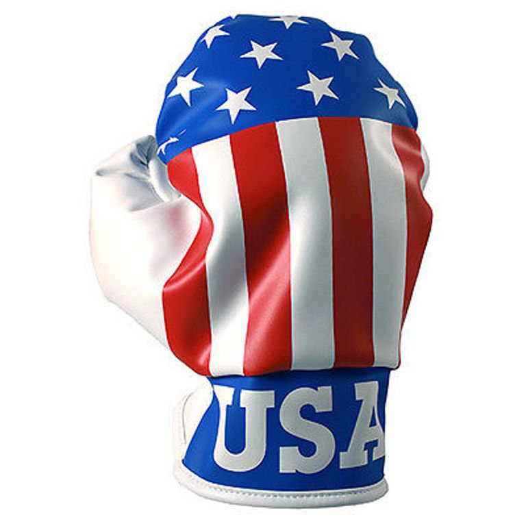 USA Boxing Glove Golf Driver Head Cover Fits Up To 460CC