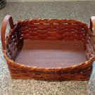 Authentic Handmade Amish Basket Signed 2000