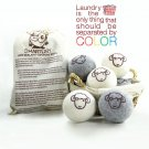 KRO Organic Wool Dryer Balls ( 6 pak)