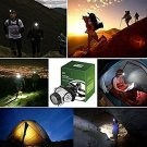 Helmet light with LED Mode...(Camping, Walking Dog & More