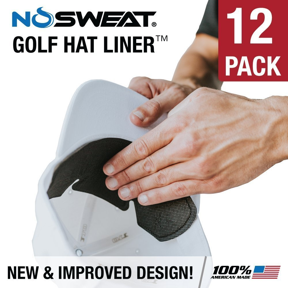 No Sweat Golf Hat Liner & Sweat Absorber (12)