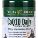 CoQ10 Daily Super Boost with Resveratrol..Purity Products