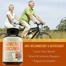 Turmeric Curcumin with Bioperine Joint Pain Relief - Anti-Inflammatory, Antioxidant Supplement
