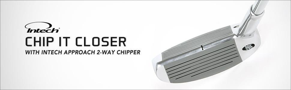 Intech Approach Two- Way Chipper : Use left or right handed...